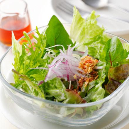 吉井さんのグリーンサラダ